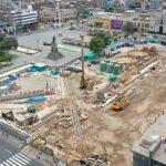 Línea 2 del Metro registra avance de 90% en cinco estaciones y otras 11 están en construcción